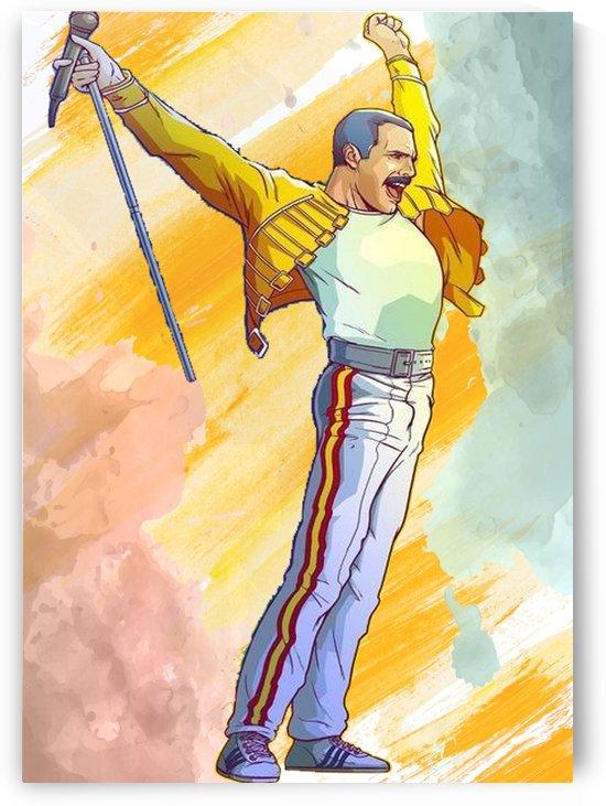 Freddie Mercury Spirit by Gunawan Rb