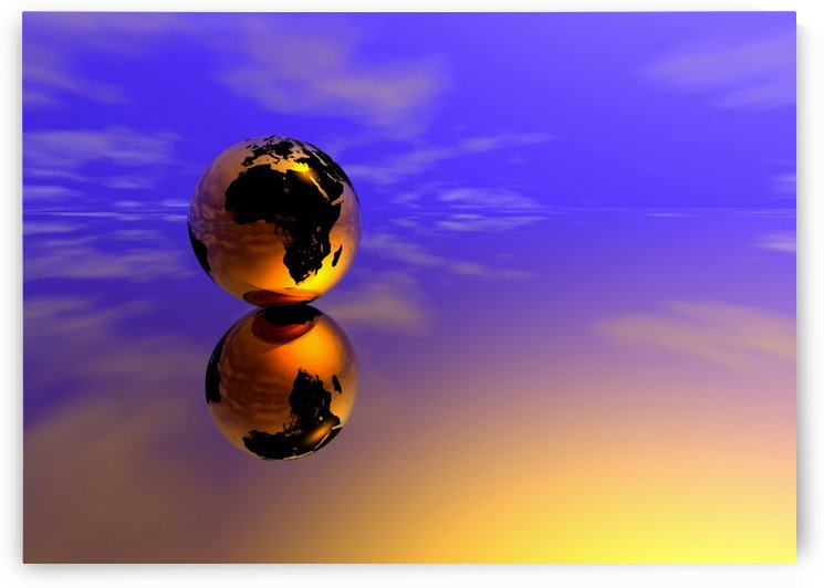Golden Earth by Bruce Rolff