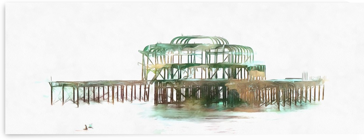 The West Pier in Brighton by Dorothy Berry-Lound
