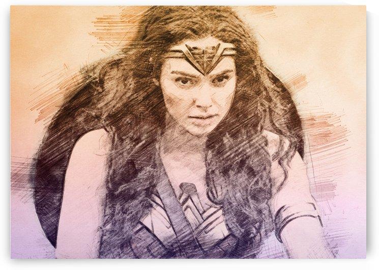 Wonder Woman by Gunawan Rb