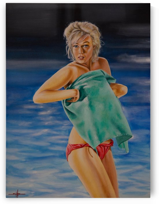 Marilyn Monroe -Somethings Got To Give by Larry Schultz