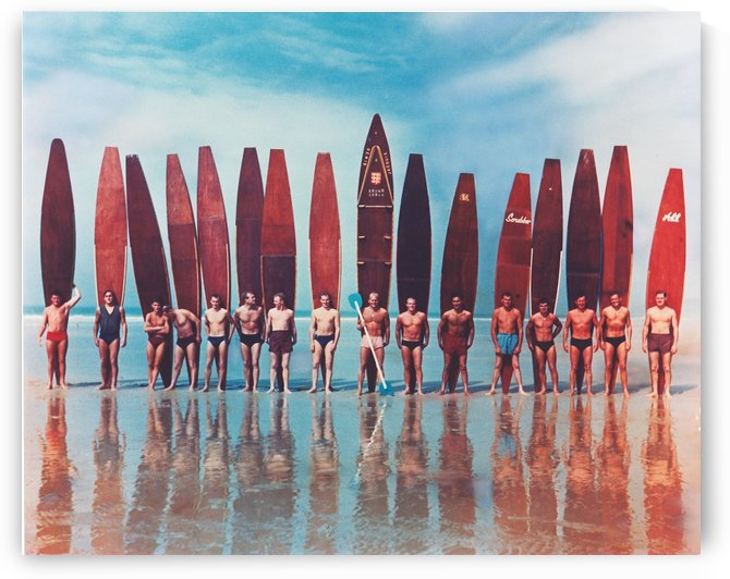 JERSEY SURFERS - Vintage Surfer Photo by Surf Posters