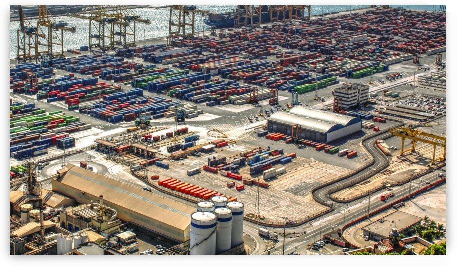 Port of Barcelona by Bentivoglio Photography