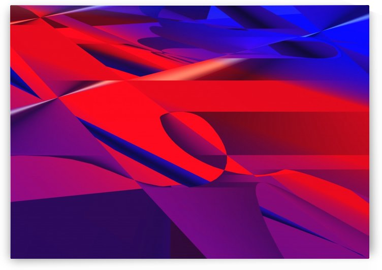 red and blue 0513a219 by Alyssa Banks