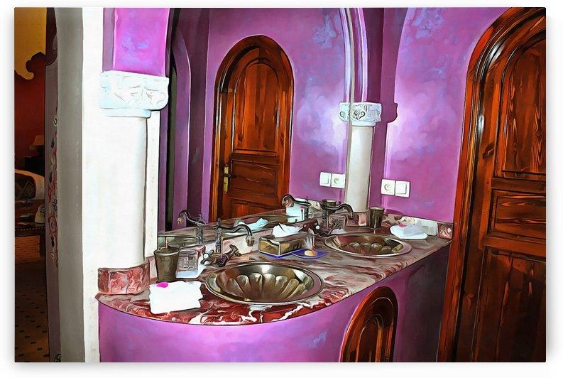 Bathroom Marrakesh 2 by Dorothy Berry-Lound