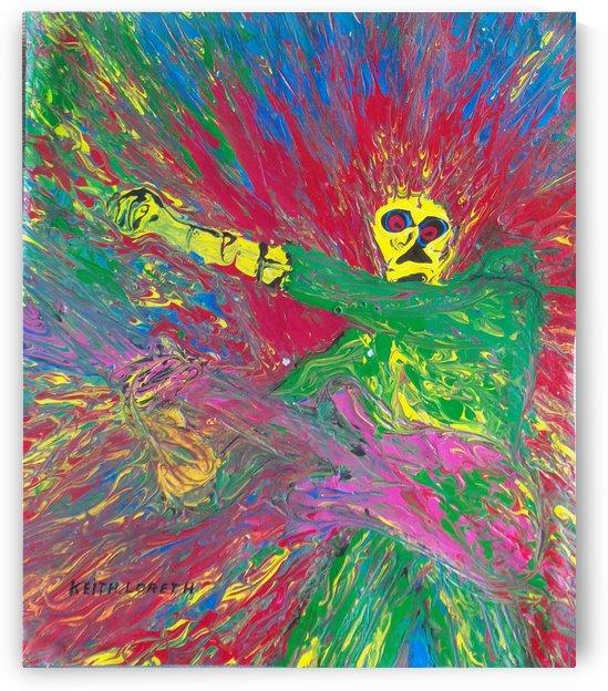 Jimi hendrix  by Keith A Loreth