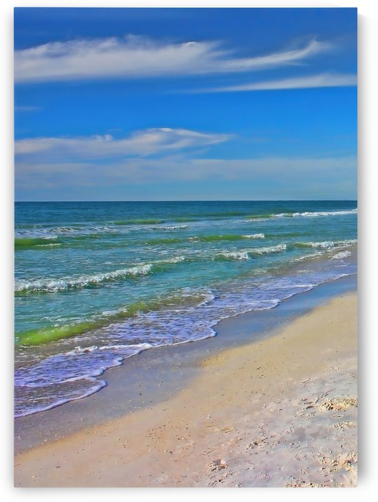 Sand Sea And Sky by HH Photography of Florida