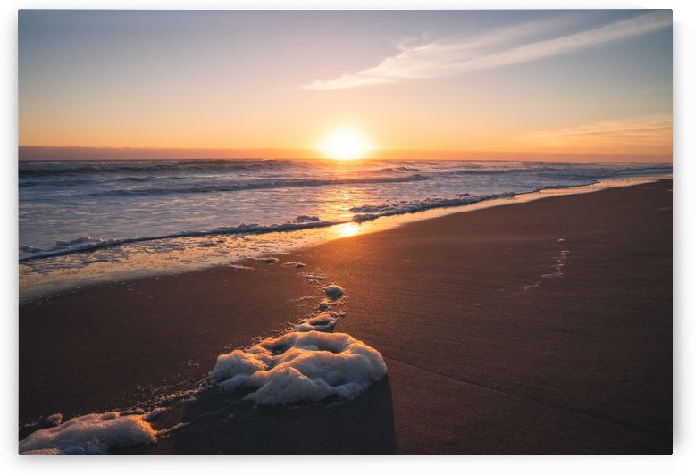 Foam on the Beach by Peter Kaple
