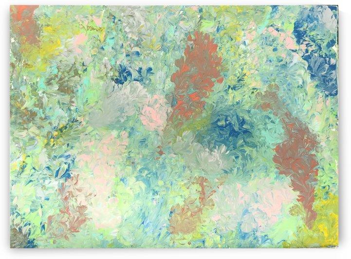 blossoming flower  by Imani  Bennett