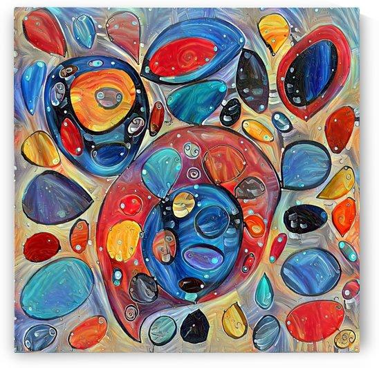 Something Abstract  by Gabriella David