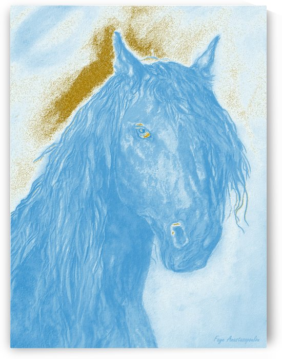 Horse Spirit by Faye Anastasopoulou