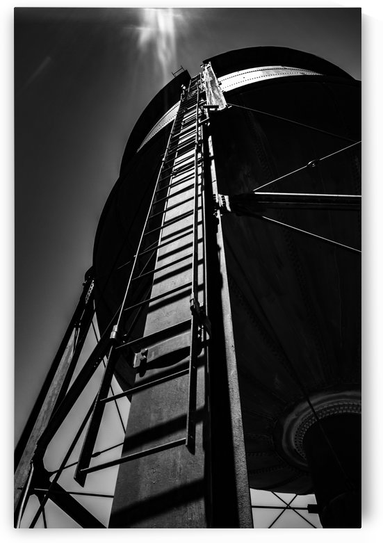 Water Tower BnW by Wilken Photos