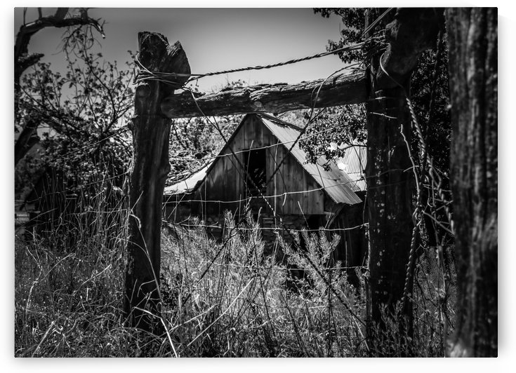 Abandoned Black and White by Wilken Photos