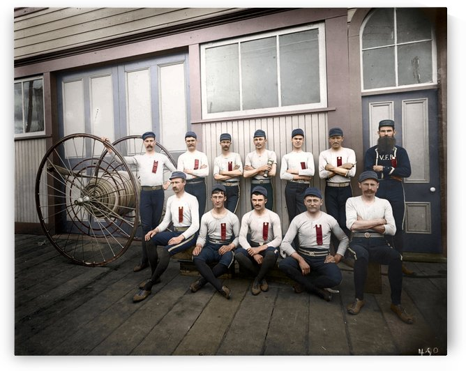 Vancouver hose reel racing team by Canadian Colour