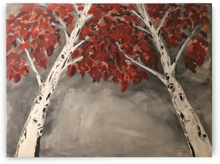 Birch by Ralph Cannell by Ralph Cannell - Art by Cannell