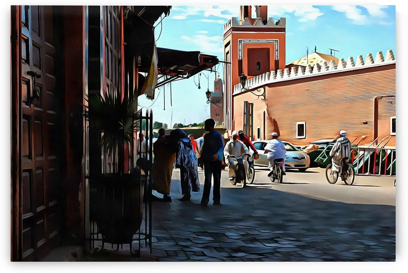 Street in Marrakech by Dorothy Berry-Lound
