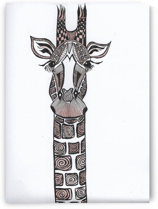Brown Giraffe by EF Kelly