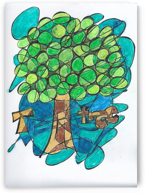 T is for Tree by EF Kelly