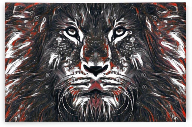 Lions Glare bloodmane  by Jaycrave Designs