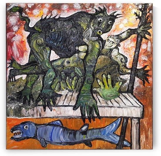 Creation by Vango Art Gallery