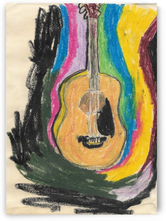 Acoustic Guitar by EF Kelly