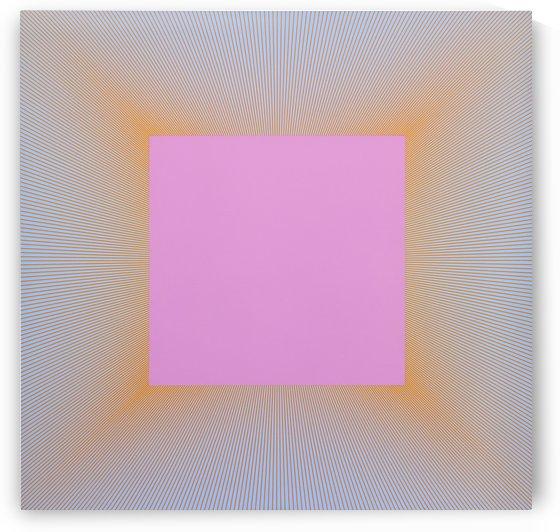Light Magenta Square by Vango Art Gallery