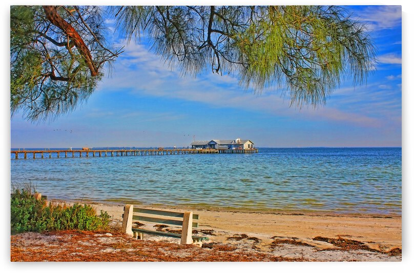 The City Pier-Anna Maria Island 2 by HH Photography of Florida