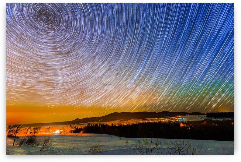 Quebec Star Trails by Lrenz