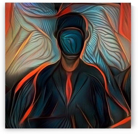 Man in Dark Suit by Bruce Rolff