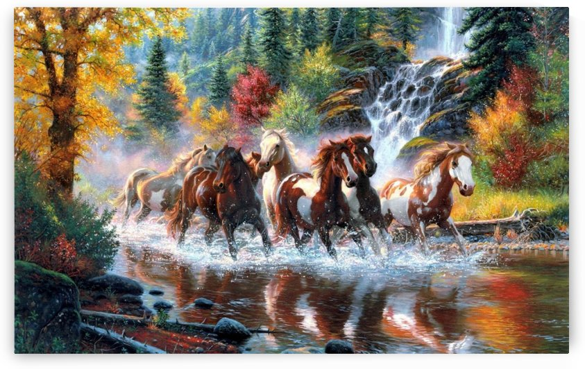 Running Horses. by Tawhid RN