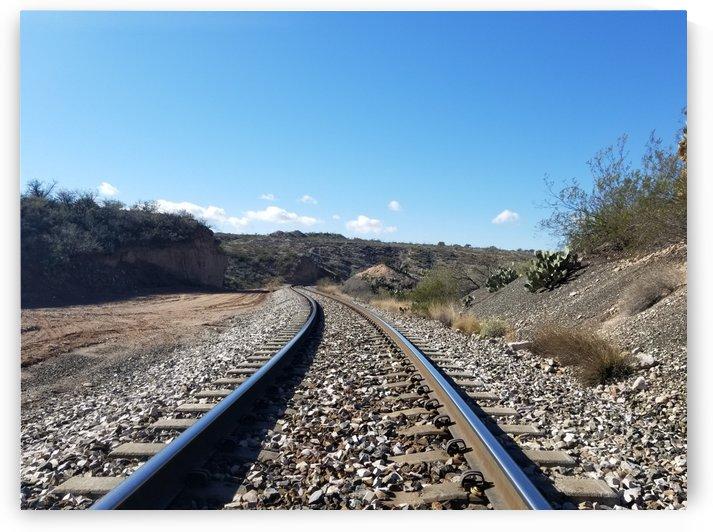 Train Tracks of Arizona by Cam