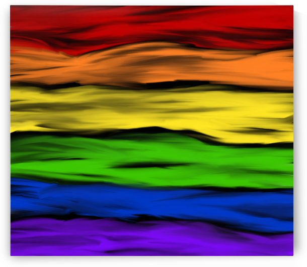 Pride Abstraction  by Mary Crook
