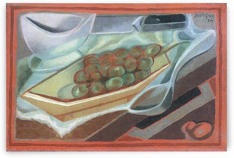 Grapes by Juan Gris by Juan Gris