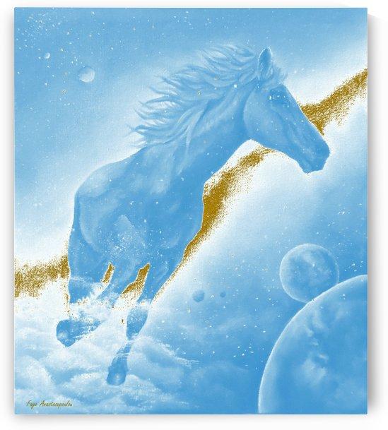 Celestial Horse by Faye Anastasopoulou
