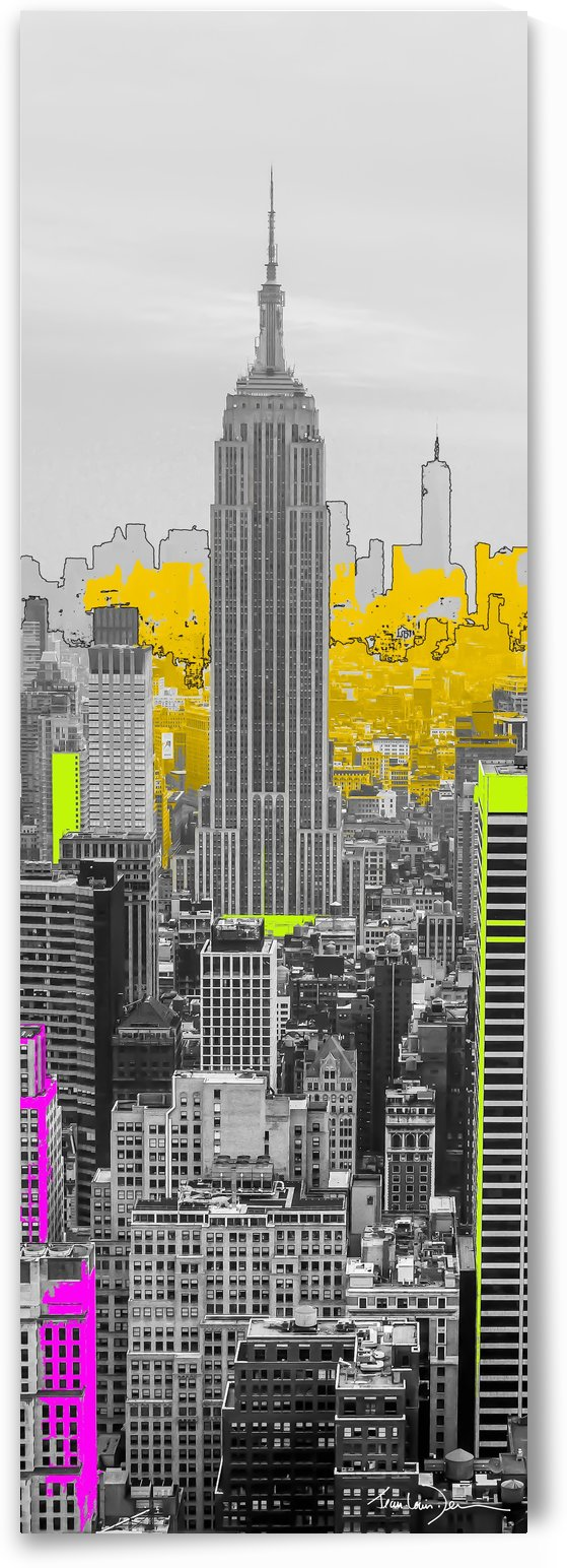 Empire state building by Jean-Louis Desrosiers
