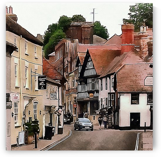 Arundel Street View by Dorothy Berry-Lound