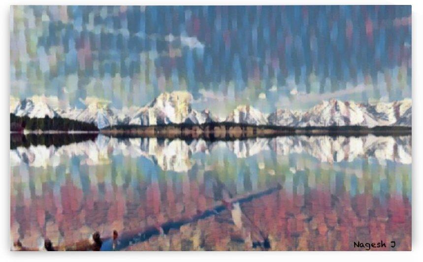Lake Jackson Grand Teton National Park by Nagesh J