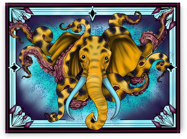 Octophant  by DarkHorse Bailey
