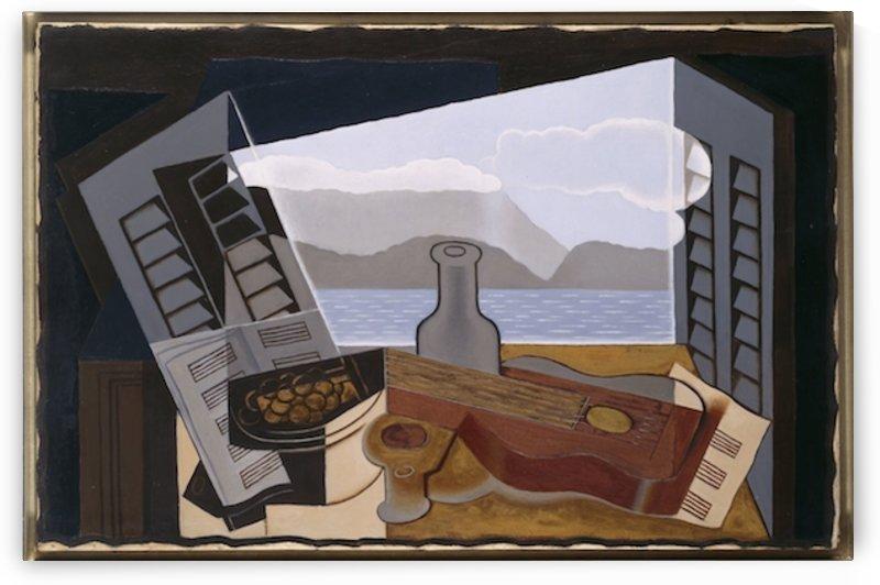 Juan Gris - The Open Window by Juan Gris
