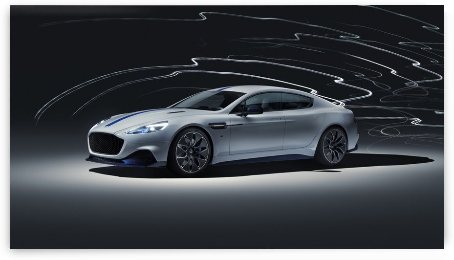 Aston martin rapid Car by Alex Pell