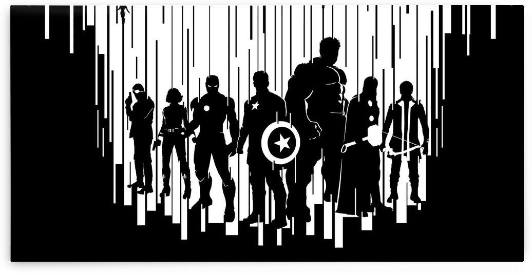 Avengers by Alex Pell