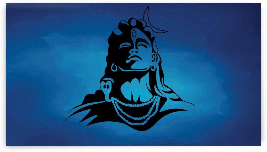 Lord Shiva by Alex Pell