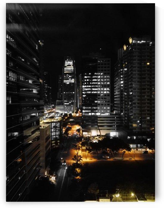 City lights of Manila by Karen