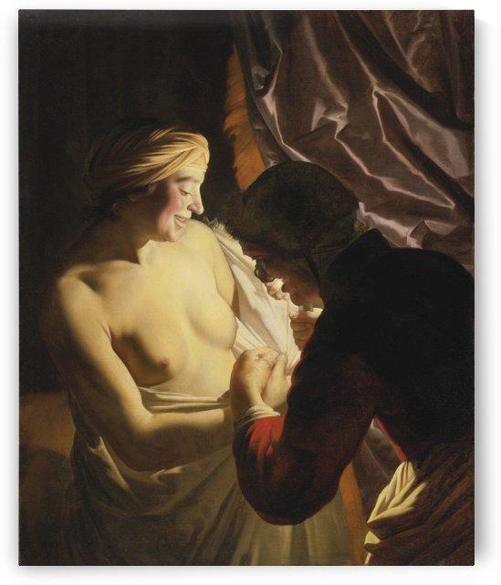 Two women by Benjamin West