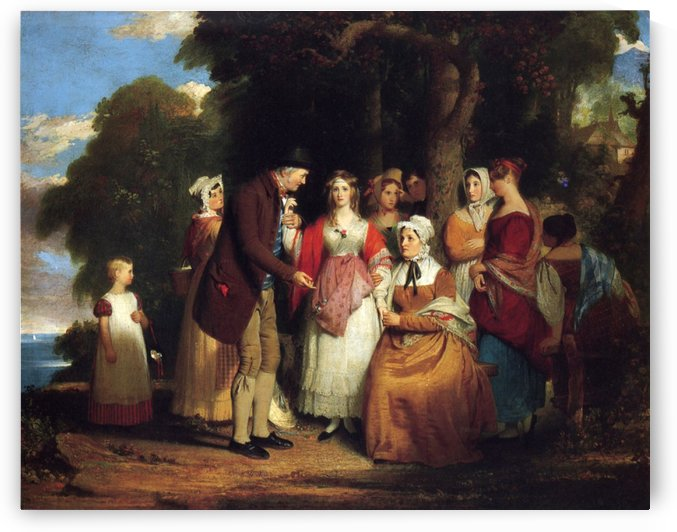 A domestic affliction by Benjamin West
