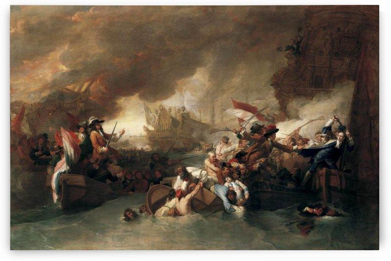 Battle of La Hogue by Benjamin West