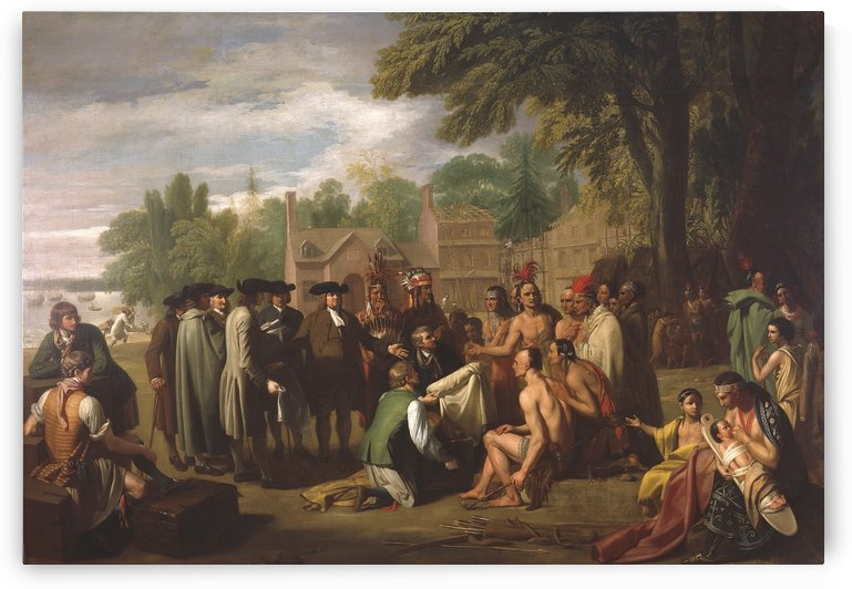 The indians by Benjamin West