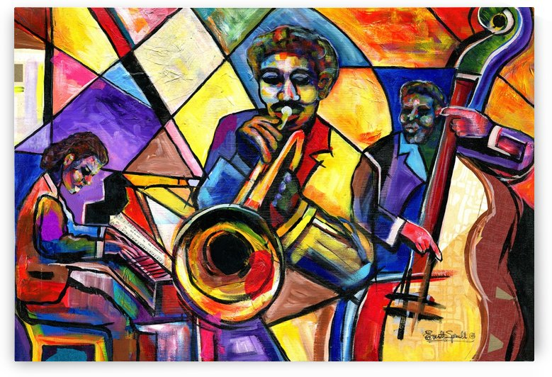 And Then There Wuz da Blues by Everett Spruill