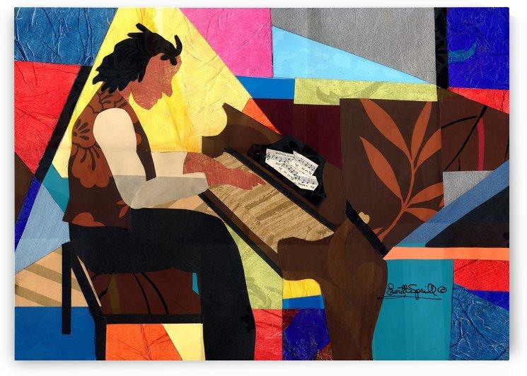 Piano Man by Everett Spruill