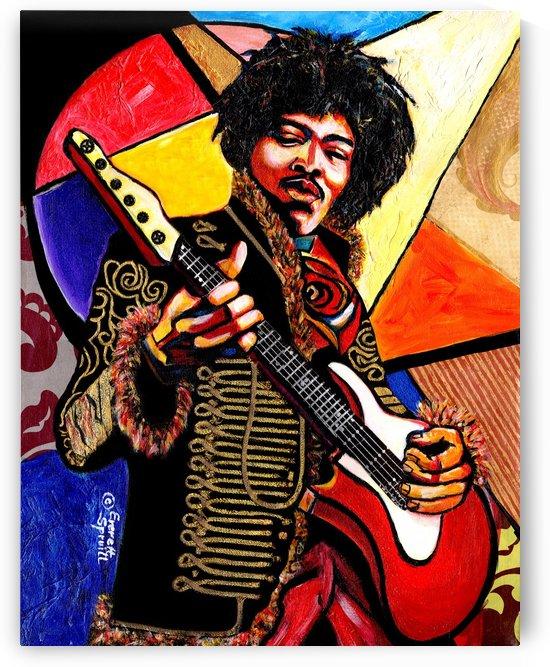 Jimi Hendrix  by Everett Spruill